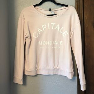 French themed pullover
